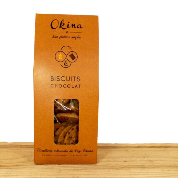 Biscuits Okina chocolat Okina