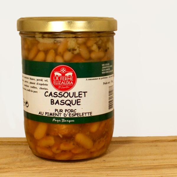 Cassoulet basque ferme Elizaldia