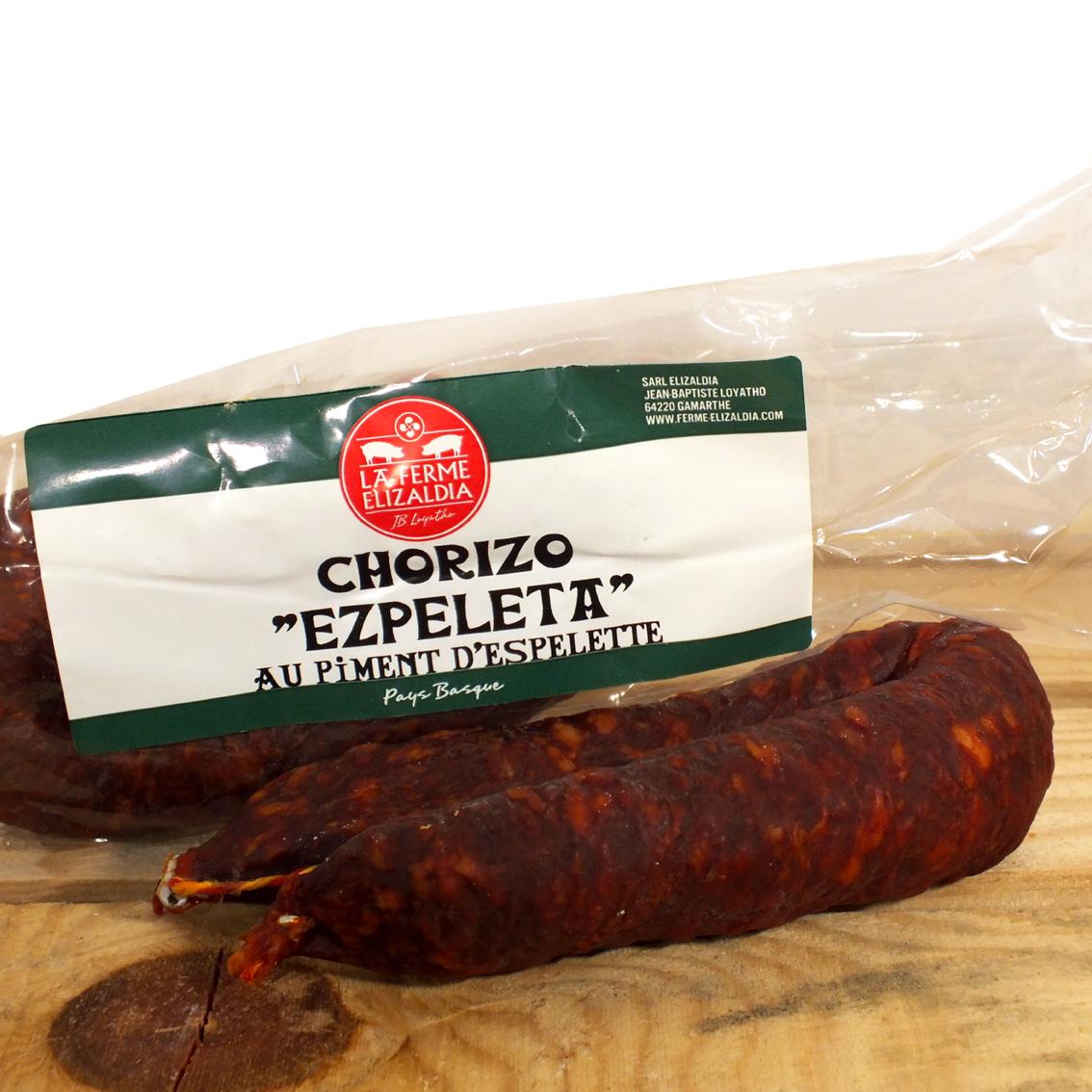 Chorizo au piment d'Espelette