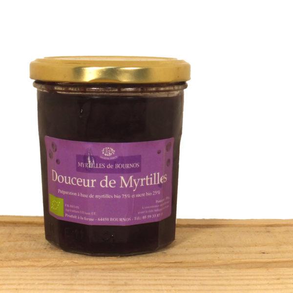 Confiture de myrtilles Bournos
