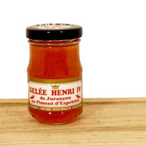 Gélée de piment d'Espelette au Jurançon Henri 4 par Biper Ona