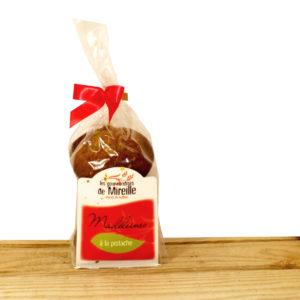 Madeleines pistache Les Gourmandises de Mireille