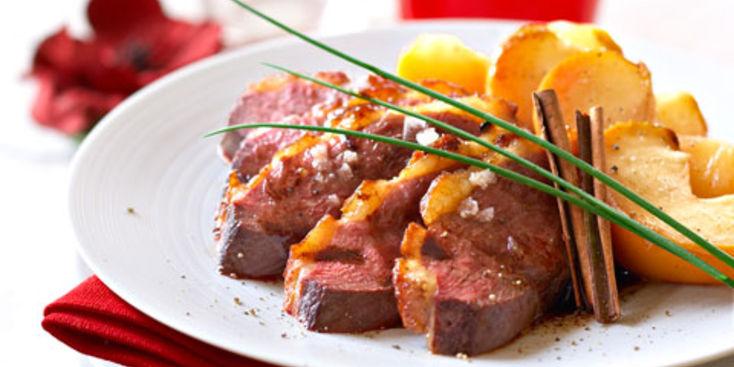 Recette magret de canard aux pommes les vergers de sainte quitterie - Comment cuisiner les germes de soja frais ...
