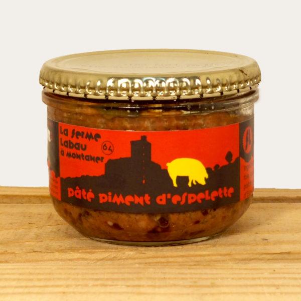 Pâté de porc au piment d'Espelette Labau