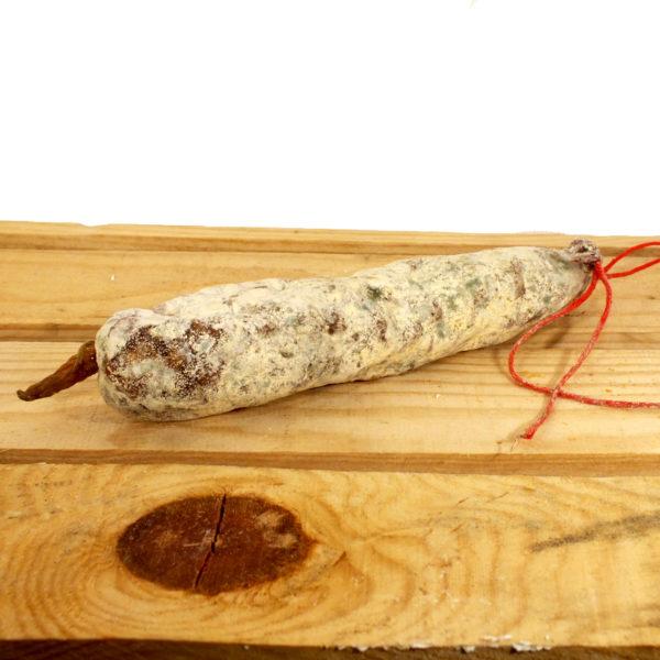 Saucisson pur porc nature ferme Labau