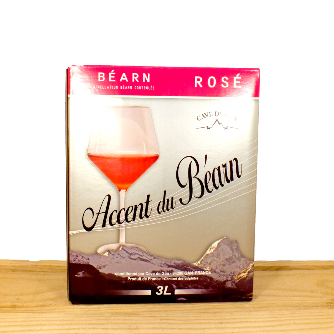 Accent du béarn jurancon rosé